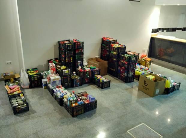 Recogida de alimentos 2015