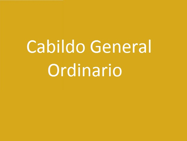 Cabildo General Ordinario. Hermandad de la Soledad